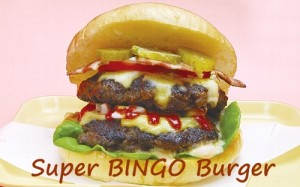 Super BINGO Burger